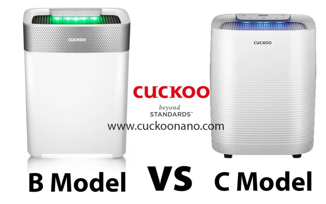 Cuckoo B Model VS C Model Air Purifier