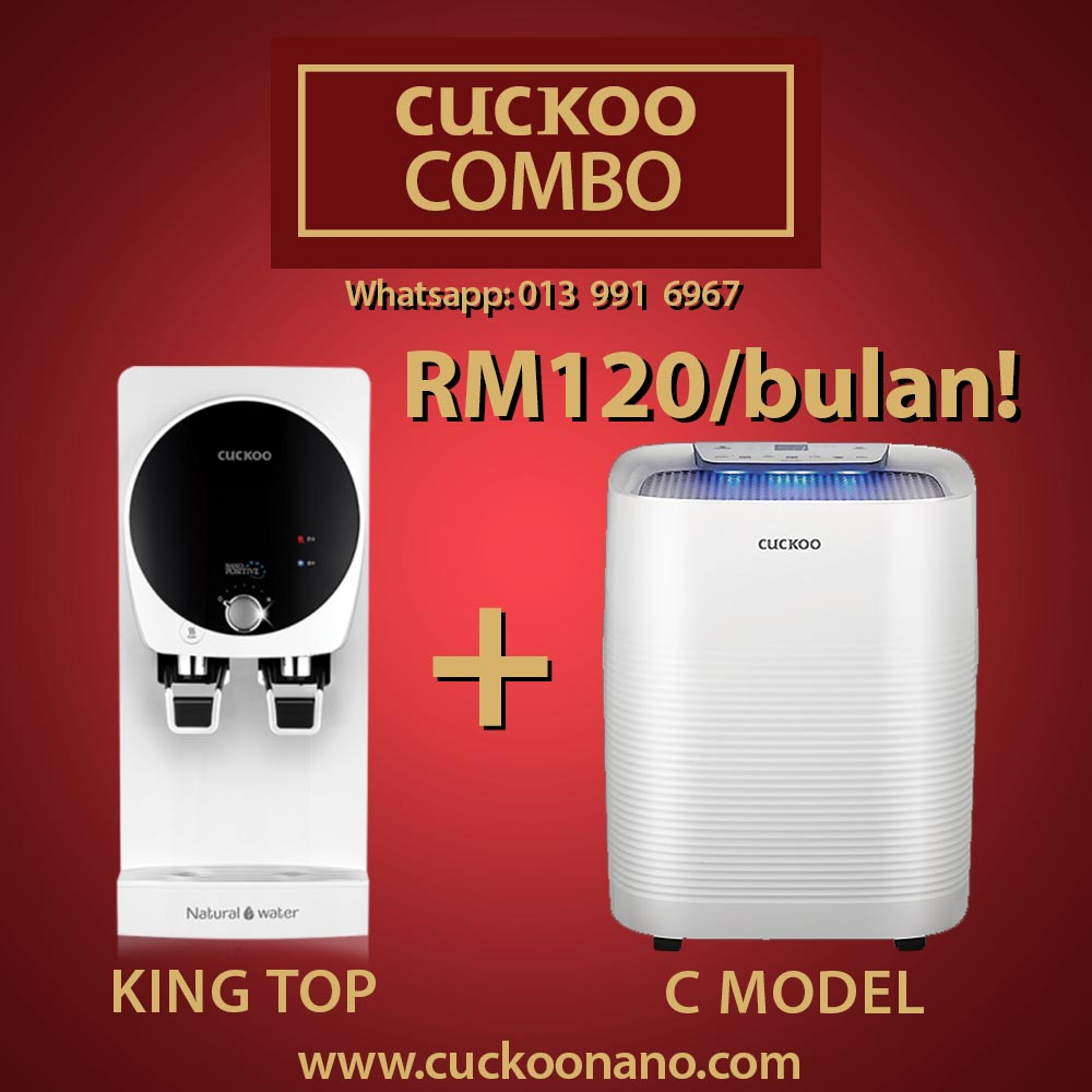 cuckoo combo king top c model rm120